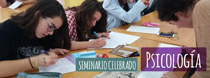 SEMINARIO PSICOLOGÍA 2ª PARTE.